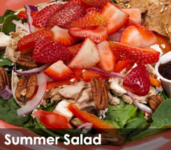 Fezziwig's Cafe-Bakery Kelowna Summer Salad