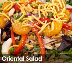 Fezziwig's Cafe-Bakery Kelowna Oriental Salad
