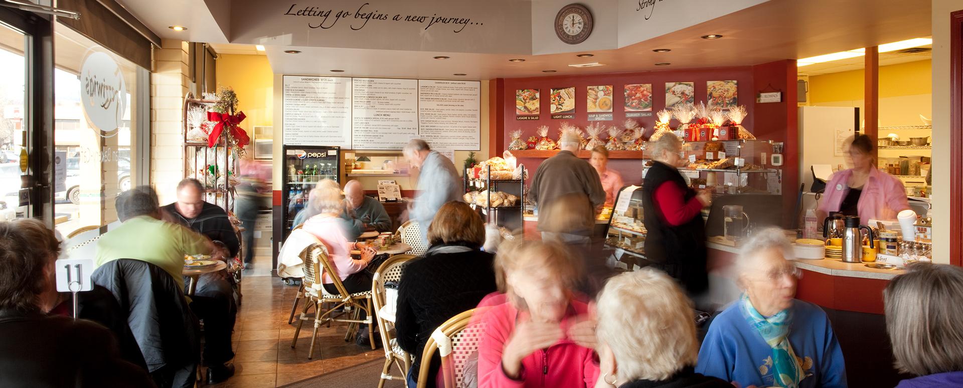 Fezziwig's Cafe-Bakery Kelowna Interior