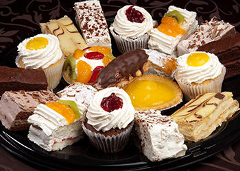 Fezziwig's Cafe-Bakery Kelowna Dessert Platter