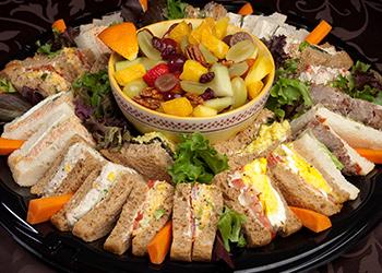 Fezziwig's Cafe-Bakery Kelowna Sandwich Platter