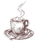 Fezziwig's Cafe-Bakery Kelowna Coffee Cup