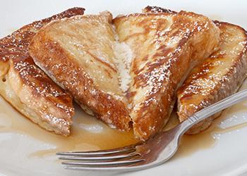 Fezziwig's Cafe-Bakery Kelowna French Toast