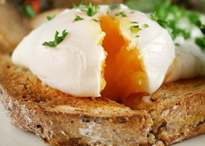 Fezziwig's Cafe-Bakery Kelowna Breakfast egg and toast