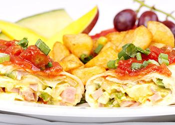 Fezziwig's Cafe-Bakery Kelowna Breakfast Wrap